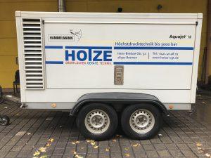 Hotze-OGT-Wasserhöchstdruck Strahlanlage Aquajet 12