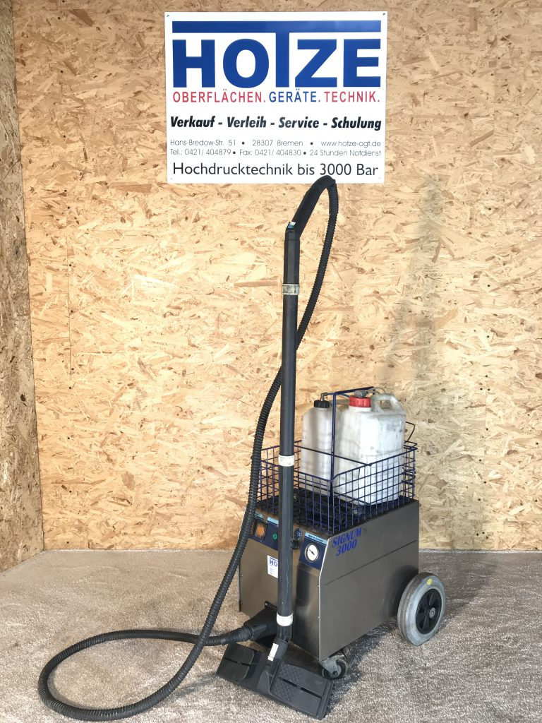 Hotze-OGT-Dampfreiniger für den 24h Einsatz 220 Volt 3 KW