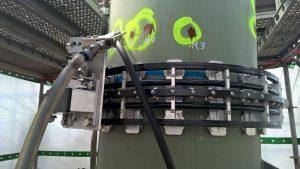 Hotze-OGT-Das Wasserstrahlwerkzeug ist Einsatzbereit