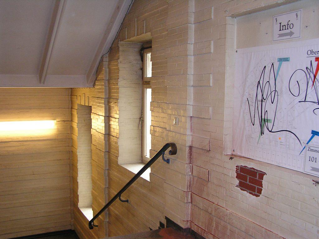 Hotze-OGT-Dispersionsfarbe im Treppenhaus