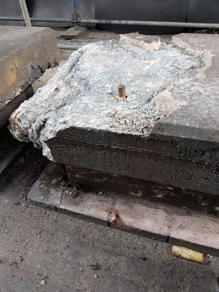 Hotze-OGT-Die Suche nach der Stahlarmierung beginnt