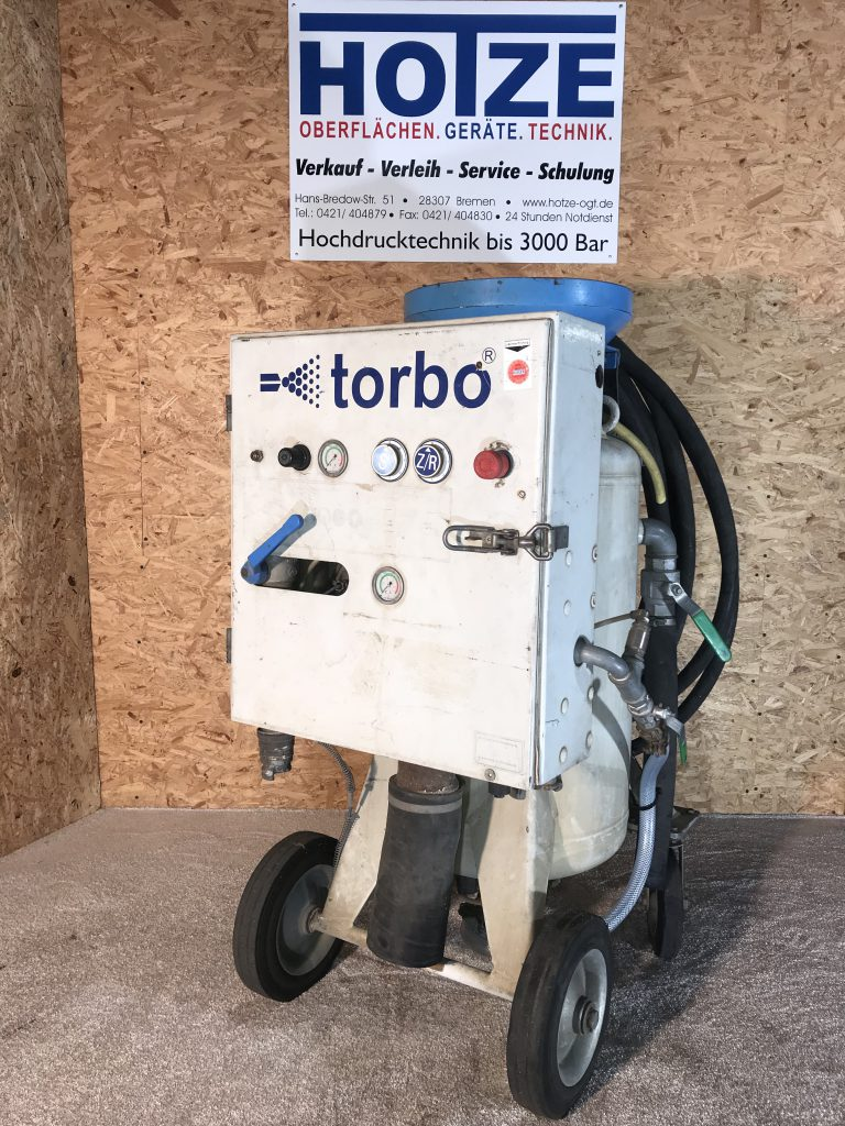 Hotze-OGT-Torbo Strahlgerät M80 ohne KompressorTorbo Schlammstrahler