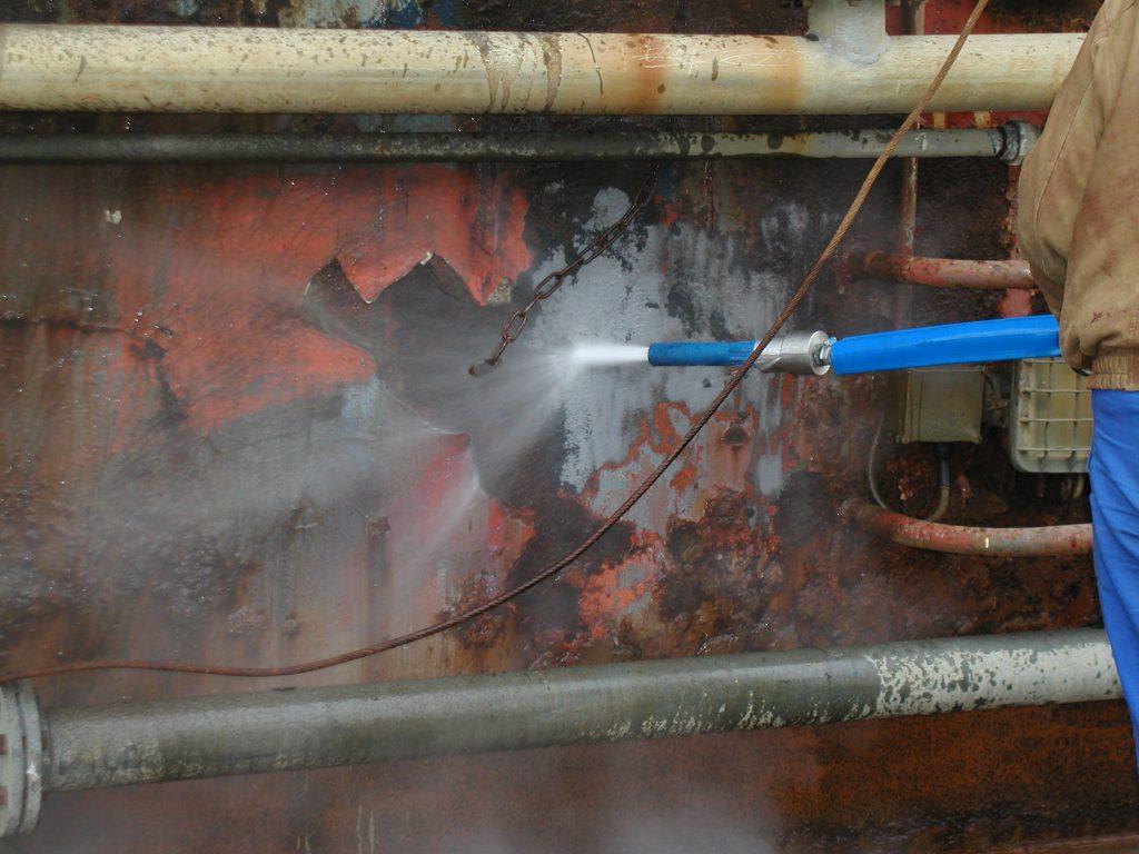 Hotze-OGT-Torbojetten das ist Torbostrahlen mit 2.500 Bar Höchstdruck das ist all in one