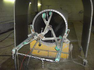 Hotze-OGT-Siebfilterreinigung Automatiesiert in der Papierindustrie mit 1.500 Bar