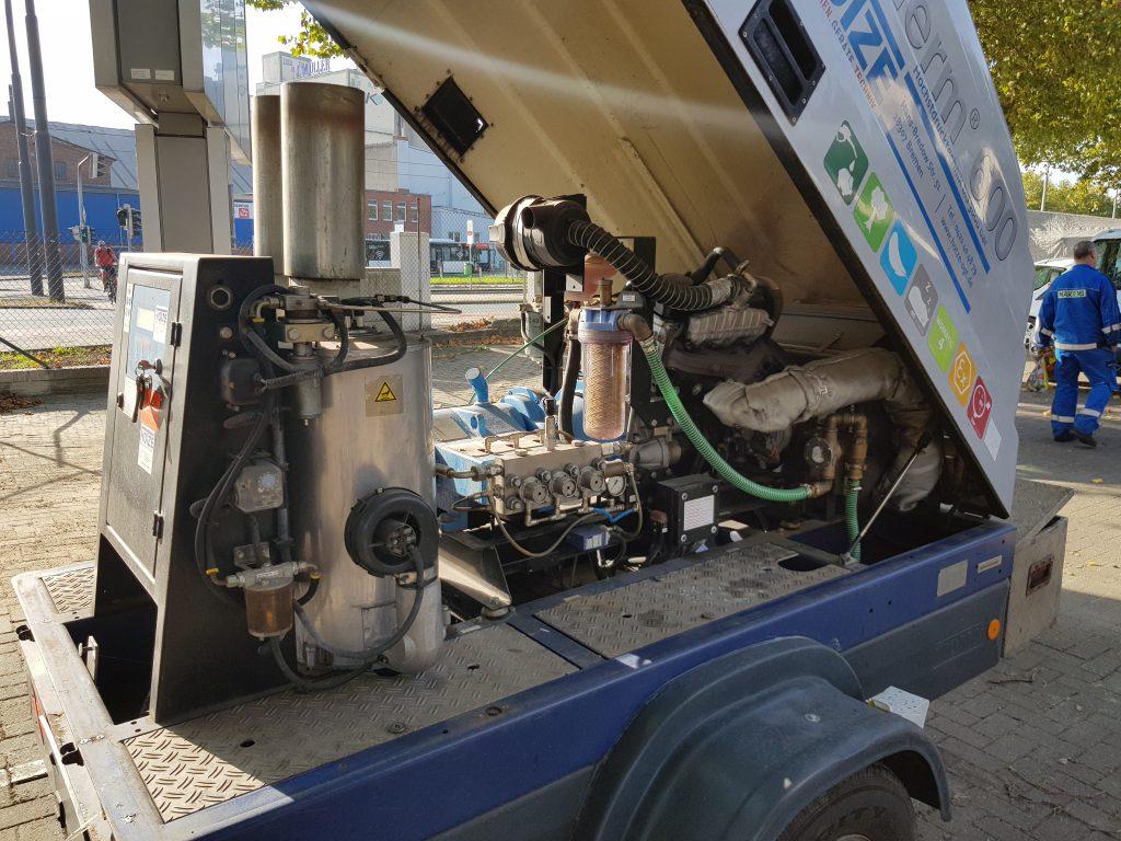 Hotze-OGT-Woma Traileranlage ET 600 mit Thea Heißwassertherme