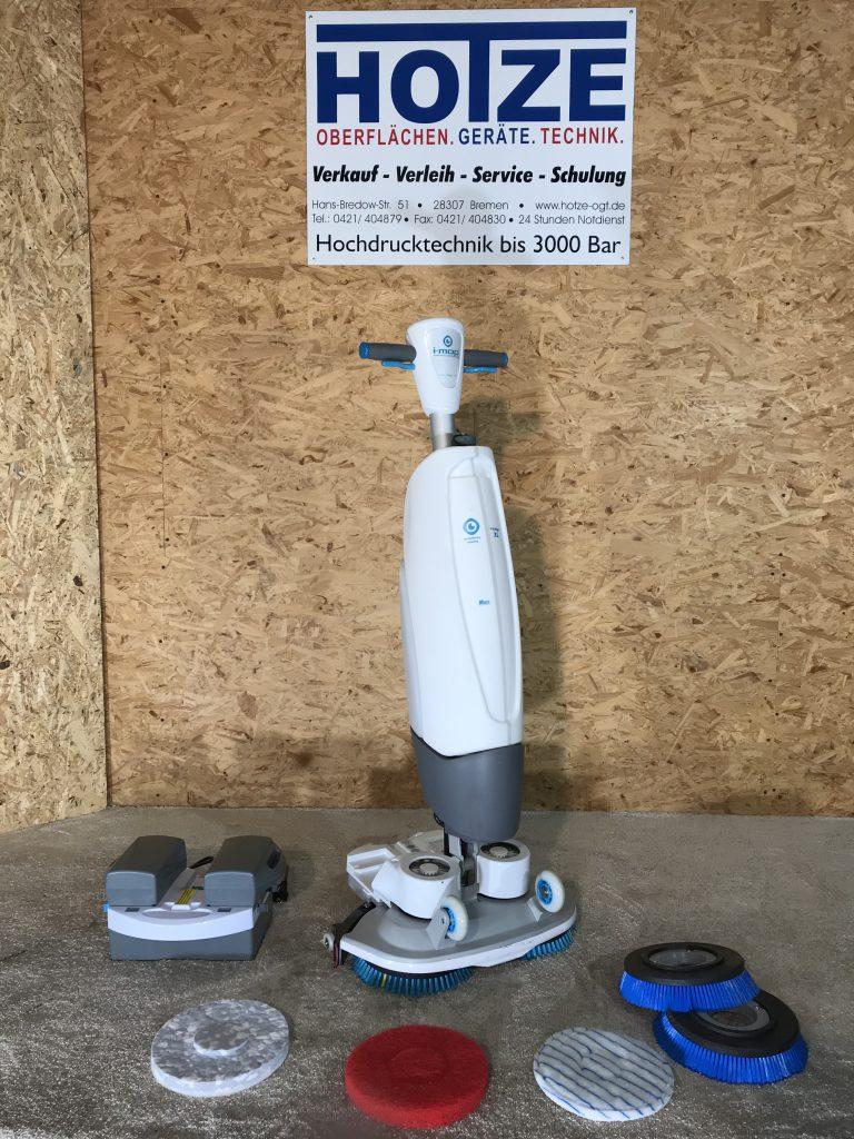 Hotze-OGT-Kenter I Mop eine sehr Handliche und wendige Scheuersaugmaschine