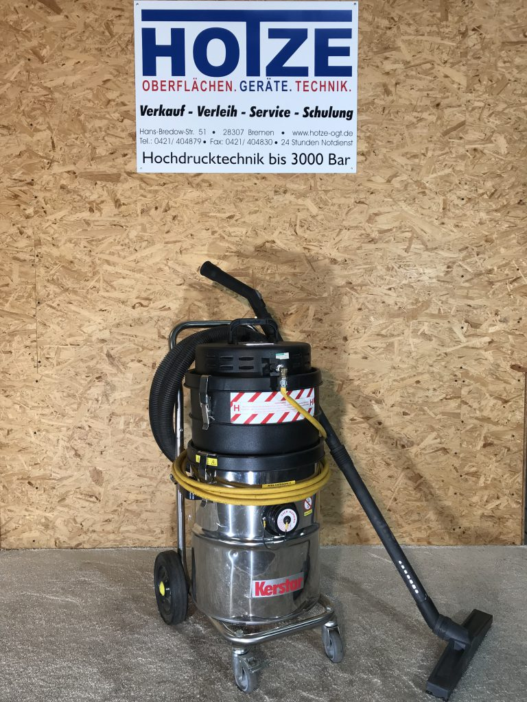 Hotze-OGT-Feinstaub Druckluftsauger das ist saugen ohne Strom