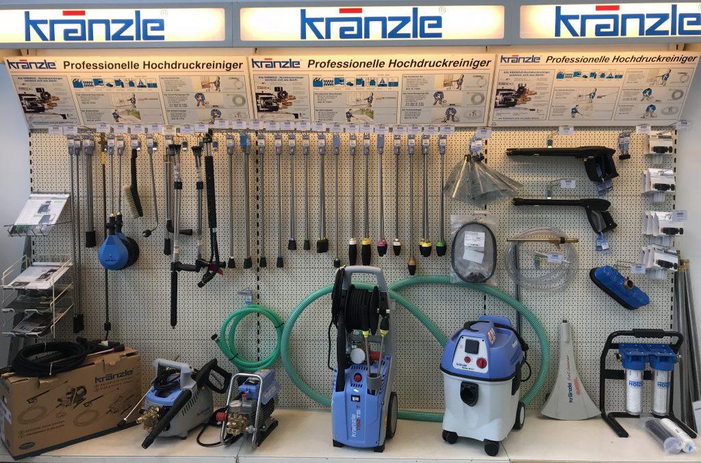 Hotze-OGT-Kränzle Shopwand