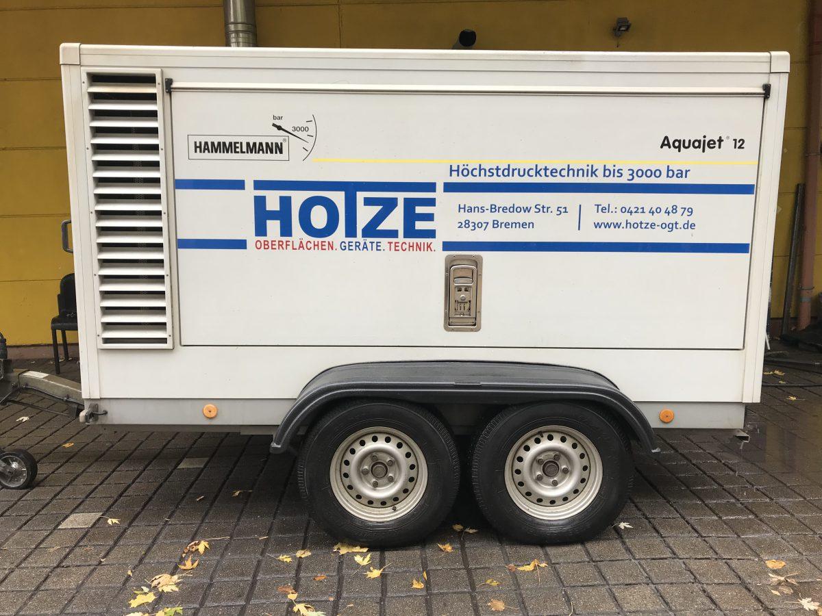 Hotze-OGT-Hammelmann Wasserhöchstdruckanlage Aquajet 12