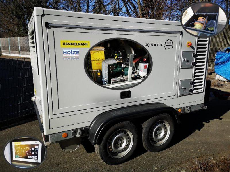 Hotze-OGT-Aquajet14 2.450 Bar 30 Liter pro min Dieselgetrieben