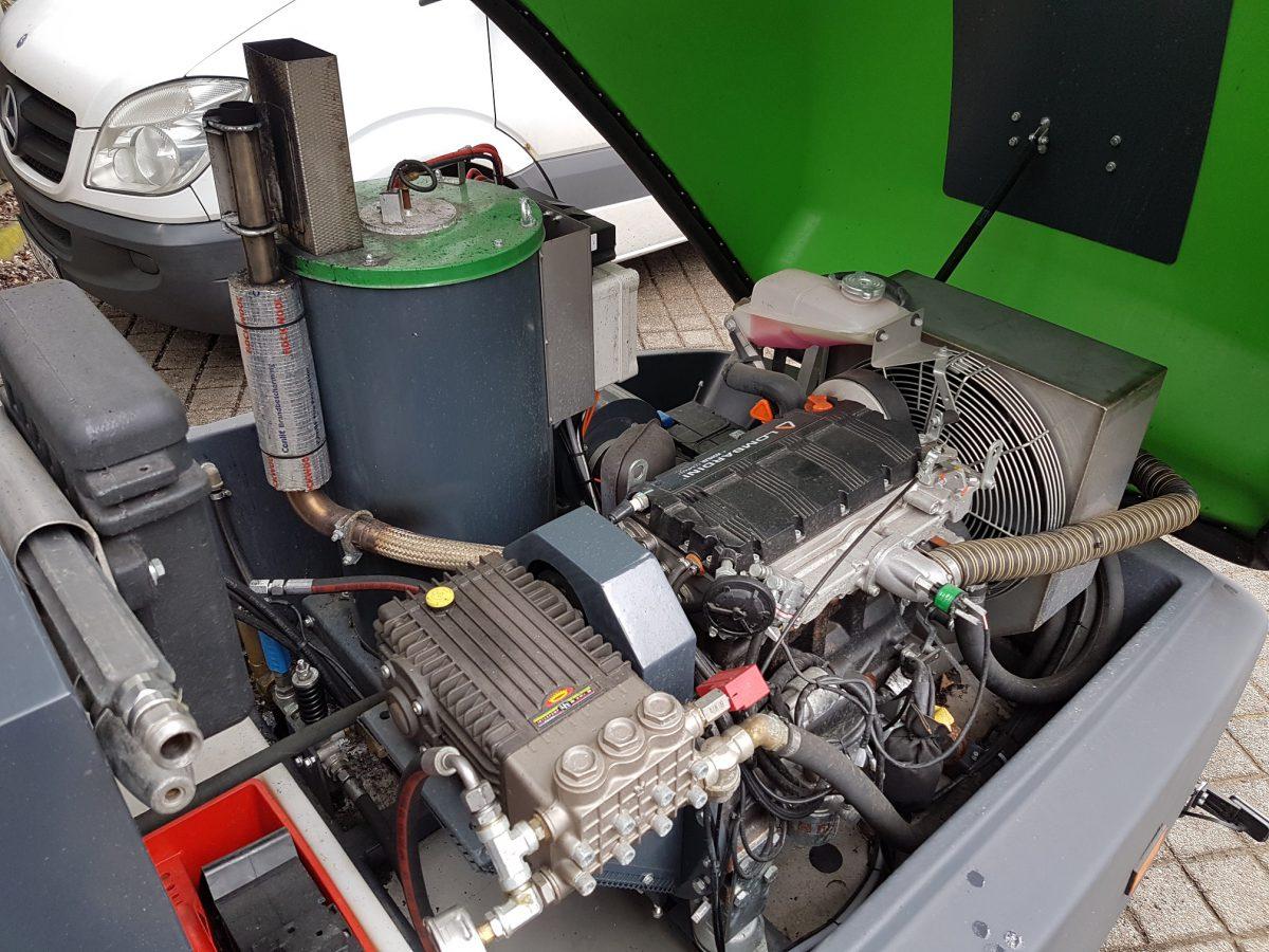 Hotze-OGT-Dibo JMBM 350-18 Motor und Pumpe