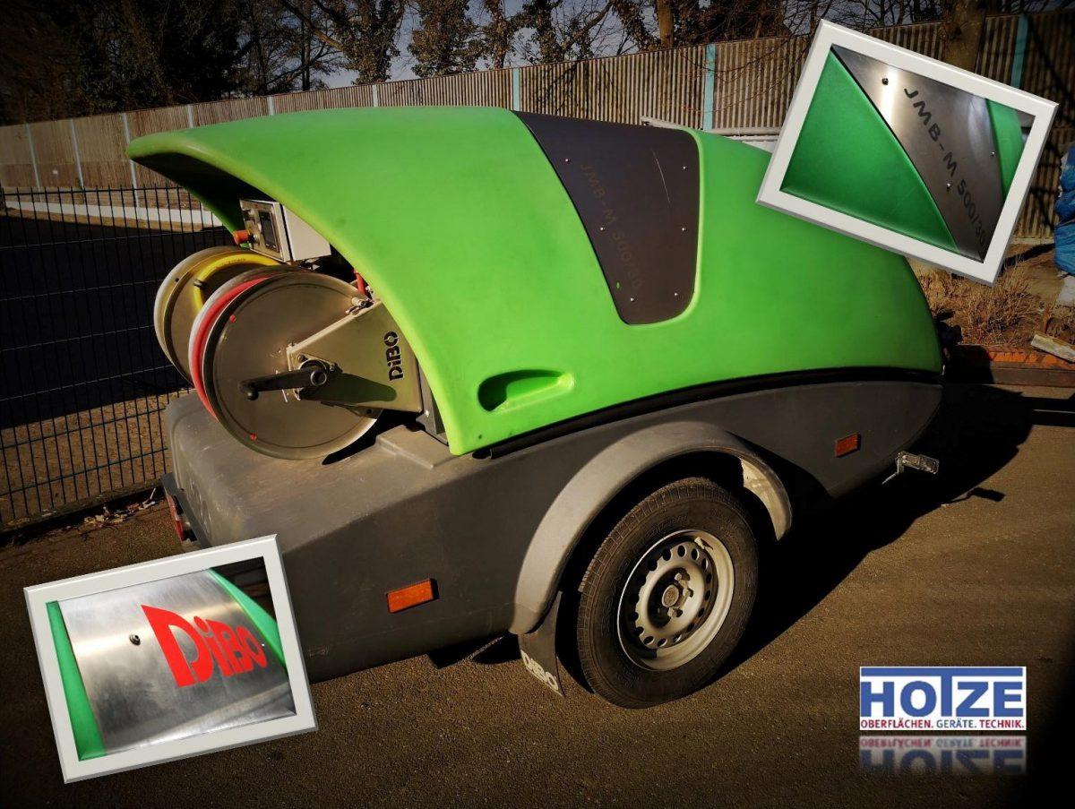 Hotze-OGT-Dibo JMB-M-500-30 Dieselgetrieben 500 Bar 30L-min Warmwasser 95°