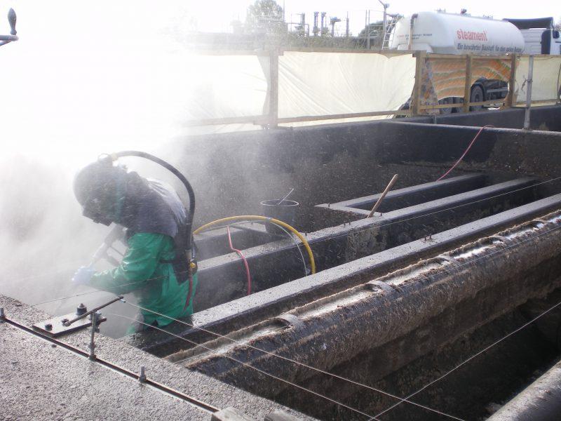 Hotze-OGT-Höchstdruckwasserstrahlen mit Handlanze