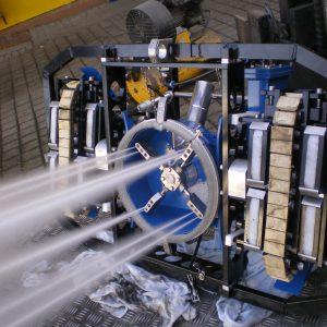 Hotze-OGT-Hochdruck Strahlrobotter