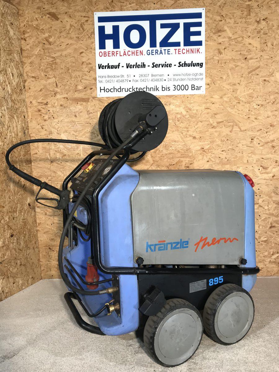 Hotze-OGT-Kränzle Therm Heißwasser 80°Grad bis 220 Bar 400 Volt